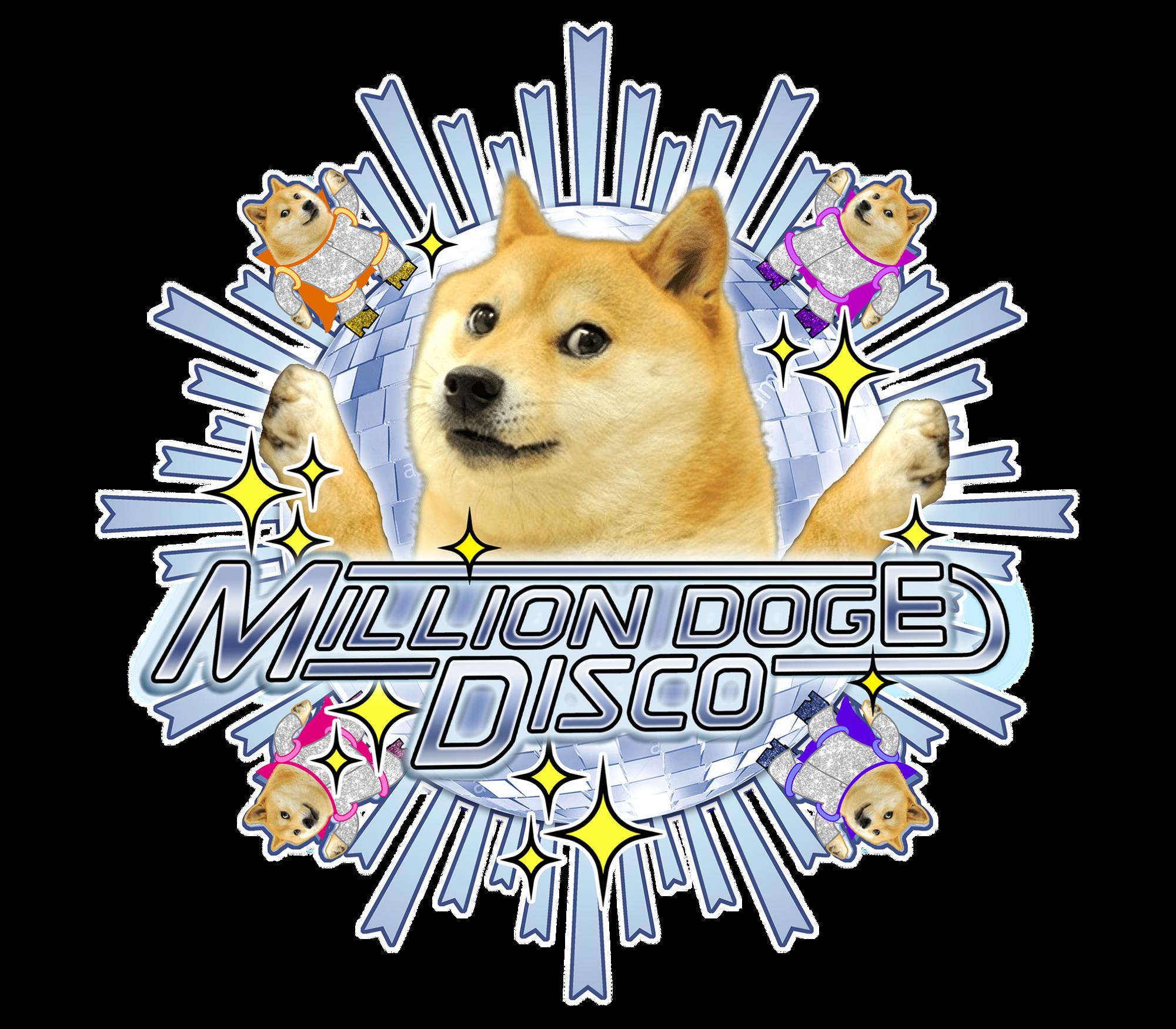 Million Doge Disco 介紹:官方視覺